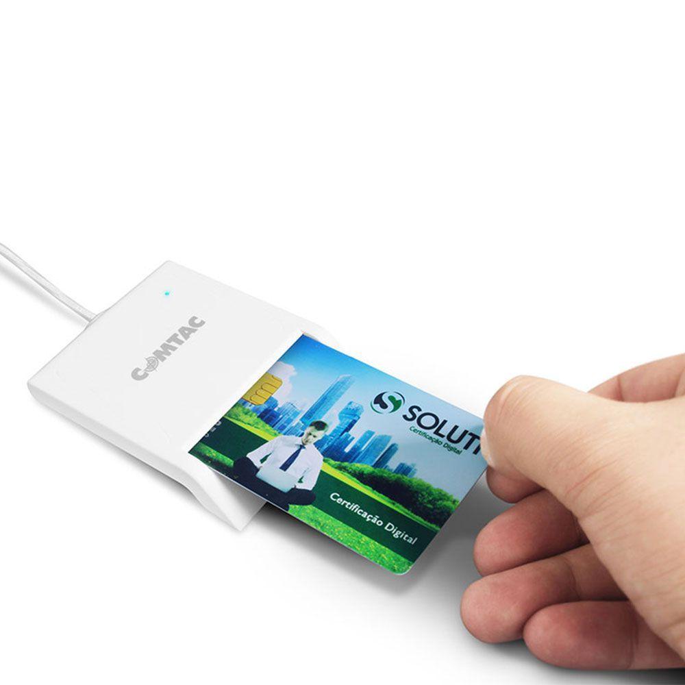 Leitor E Gravador De Smartcard Comtac Cmc-9202
