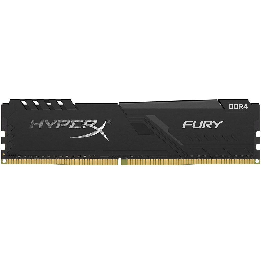 Memória HyperX Fury, 4GB, 2400MHz, DDR4, CL15, Preto