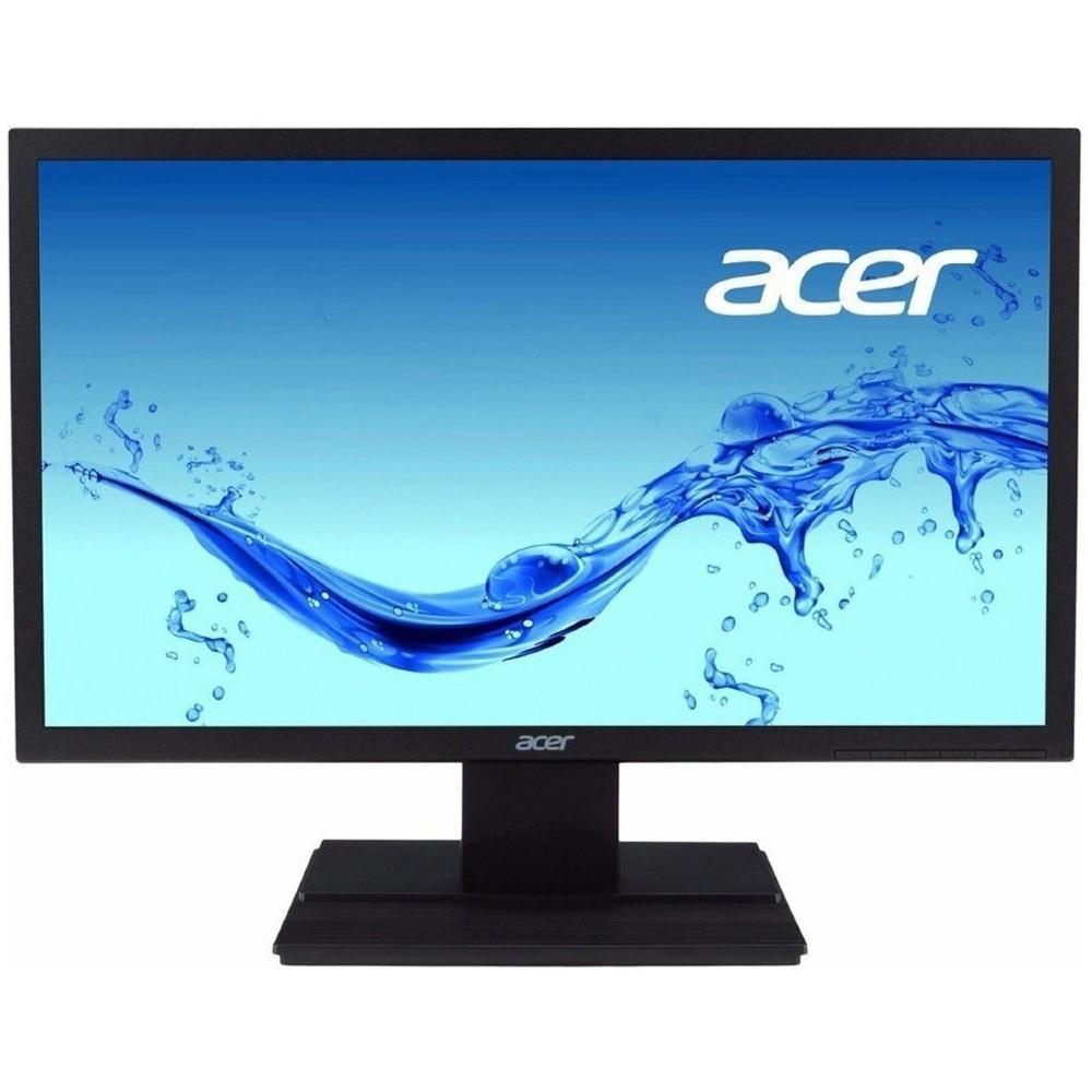 Monitor led acer 19,5  hd v206hql preto