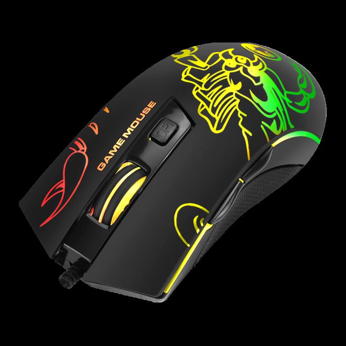 Mouse Com Fio Marvo M209 Preto