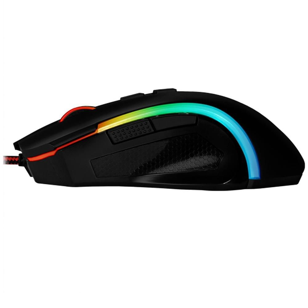 Mouse Gamer Redragon 7200DPI RGB Griffin M607