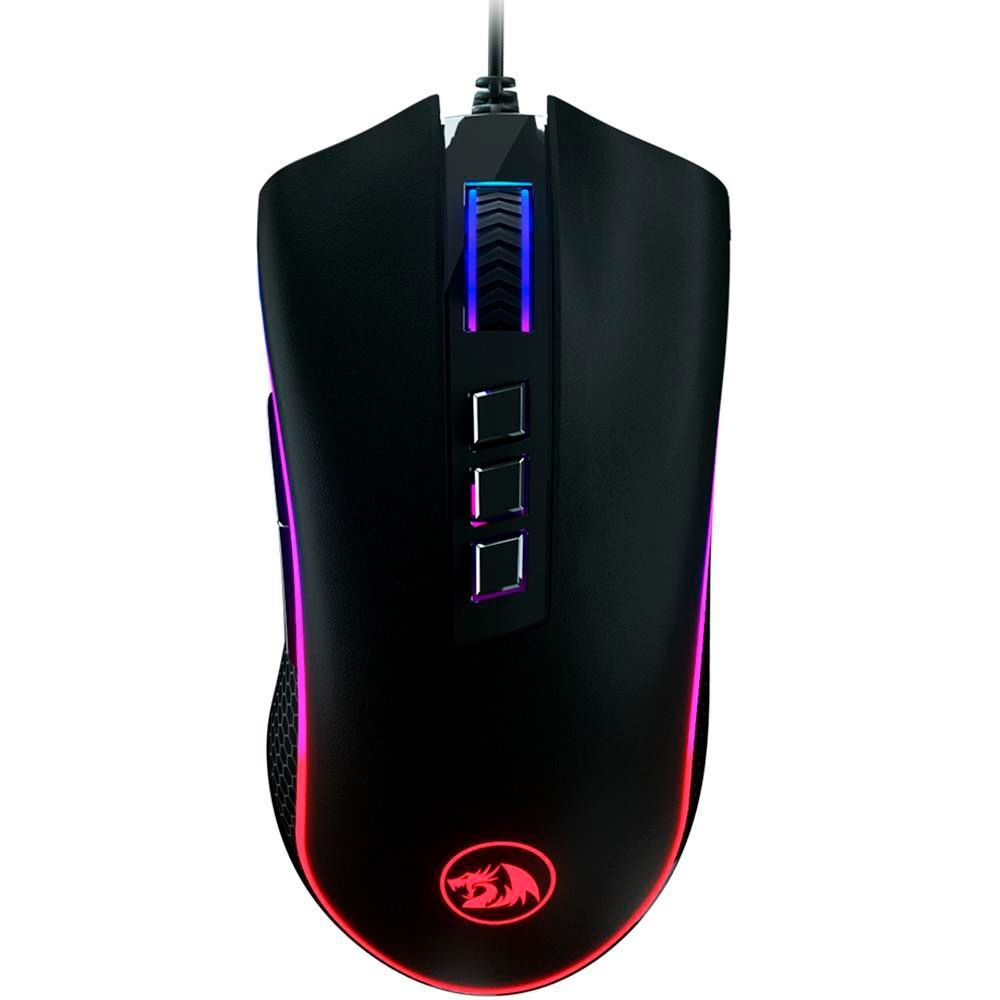 Mouse Gamer Redragon King Cobra, RGB, 8 Botões, 24000 DPI