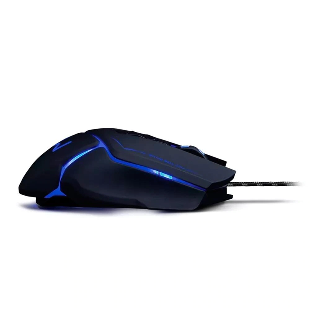 Mouse Gamer Warrior Ivor MO261 Preto