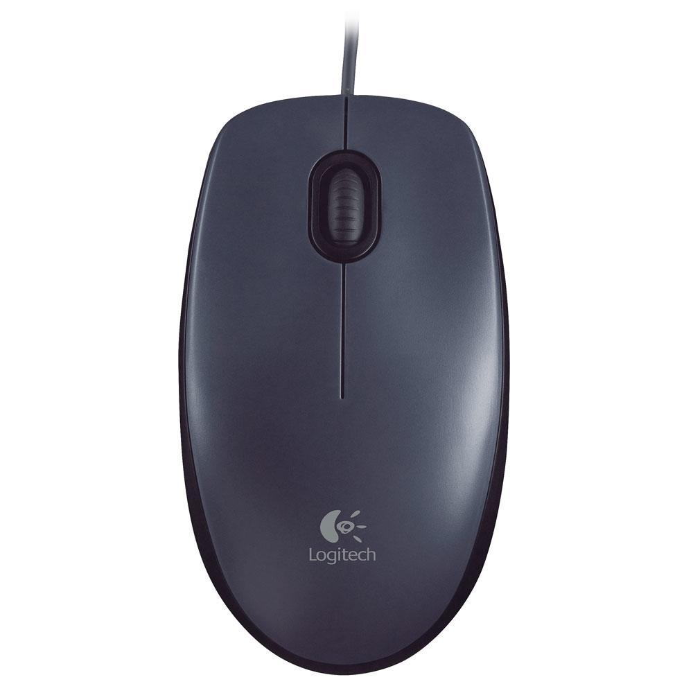 Mouse Logitech M100 Preto 1000DPI