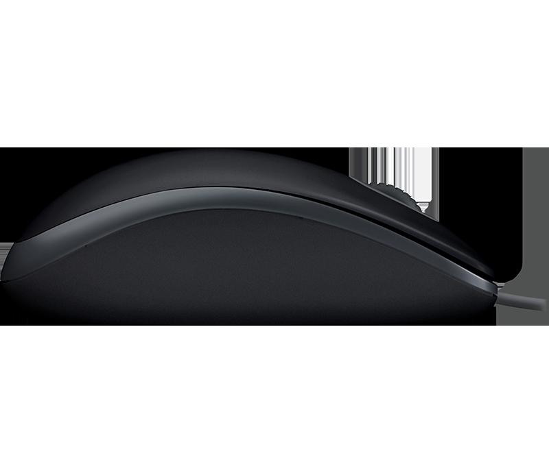 Mouse Logitech M110 Silent Preto/Cinza