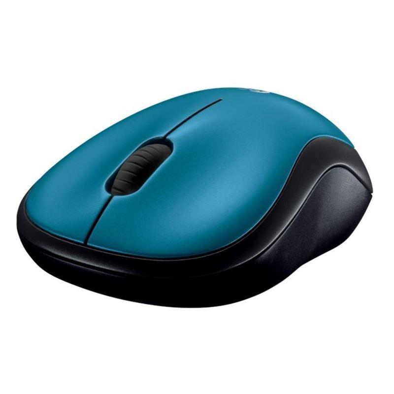 Mouse Mini S Fio Rc Nano M185 Azul Logitech