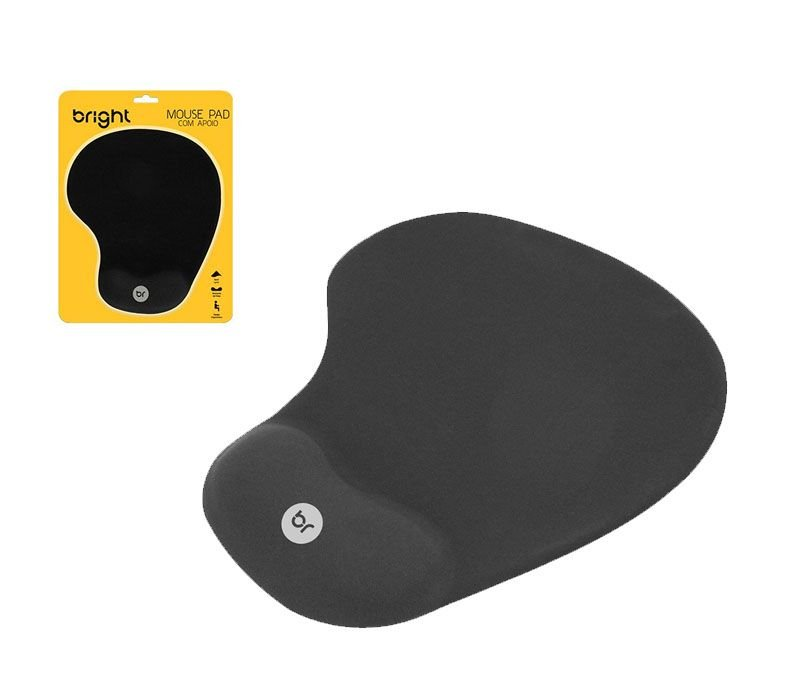 Mouse Pad Gel Bright 0307 c/ Apoio Gel