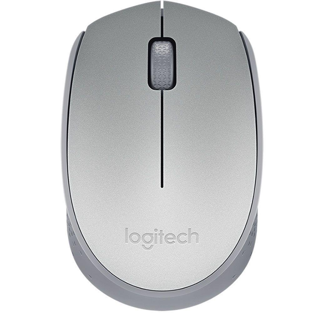 Mouse S Fio R Nano M170 Prata Logitech