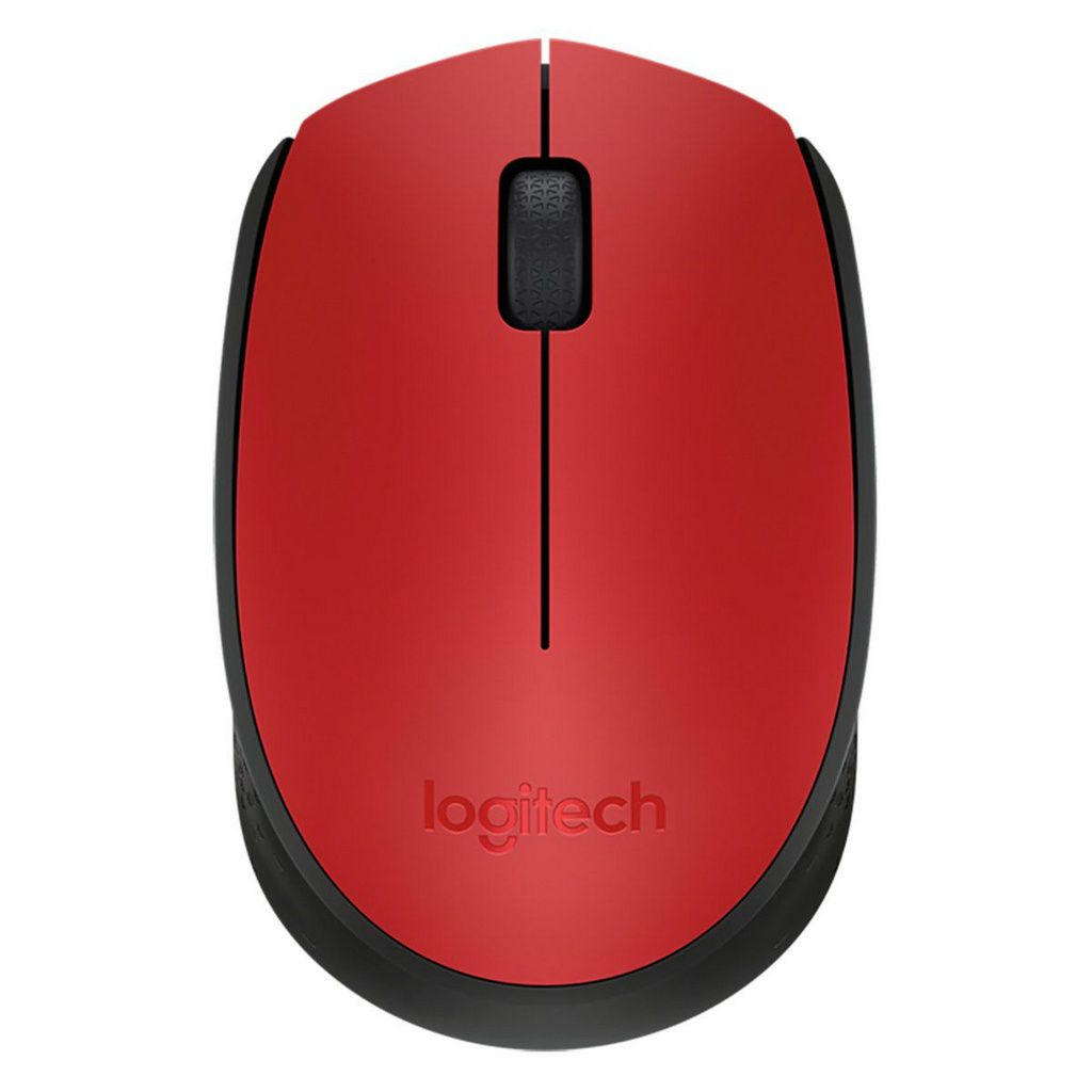 Mouse S Fio Rc Nano M170 Vermelho Logitech