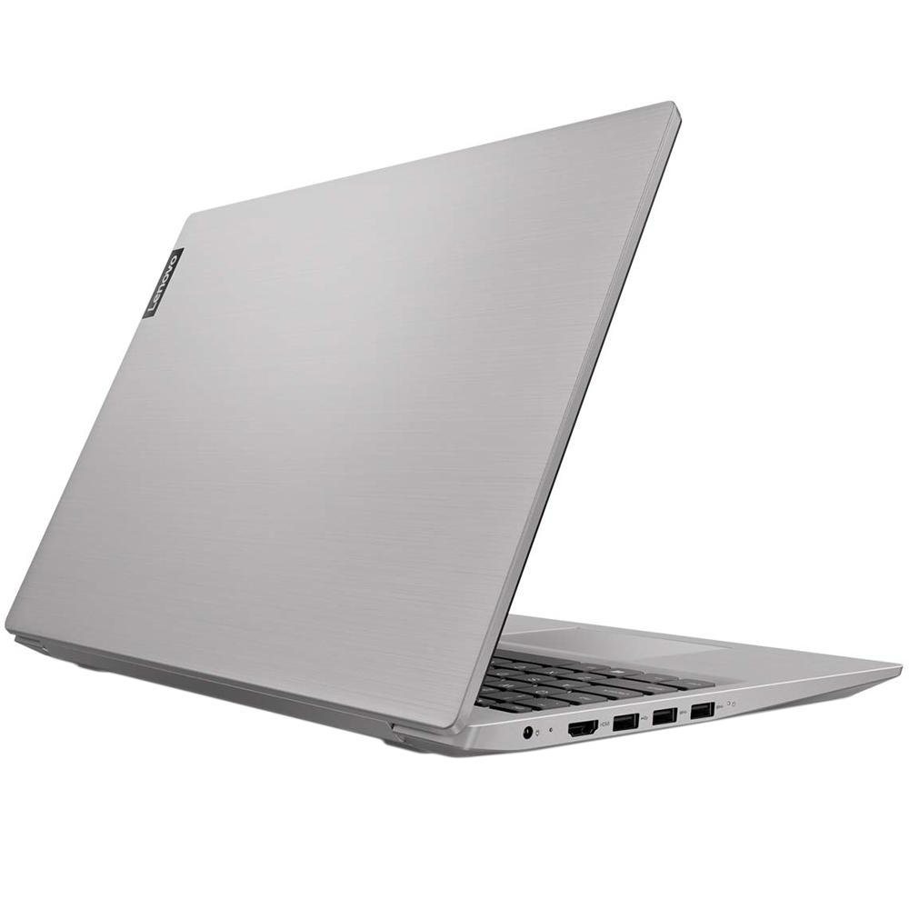 Notebook Lenovo Ultrafino Ideapad S145, Intel Celeron N4000, 4GB, HD 500GB, Linux, 15.6´, Prata - 81WTS00000