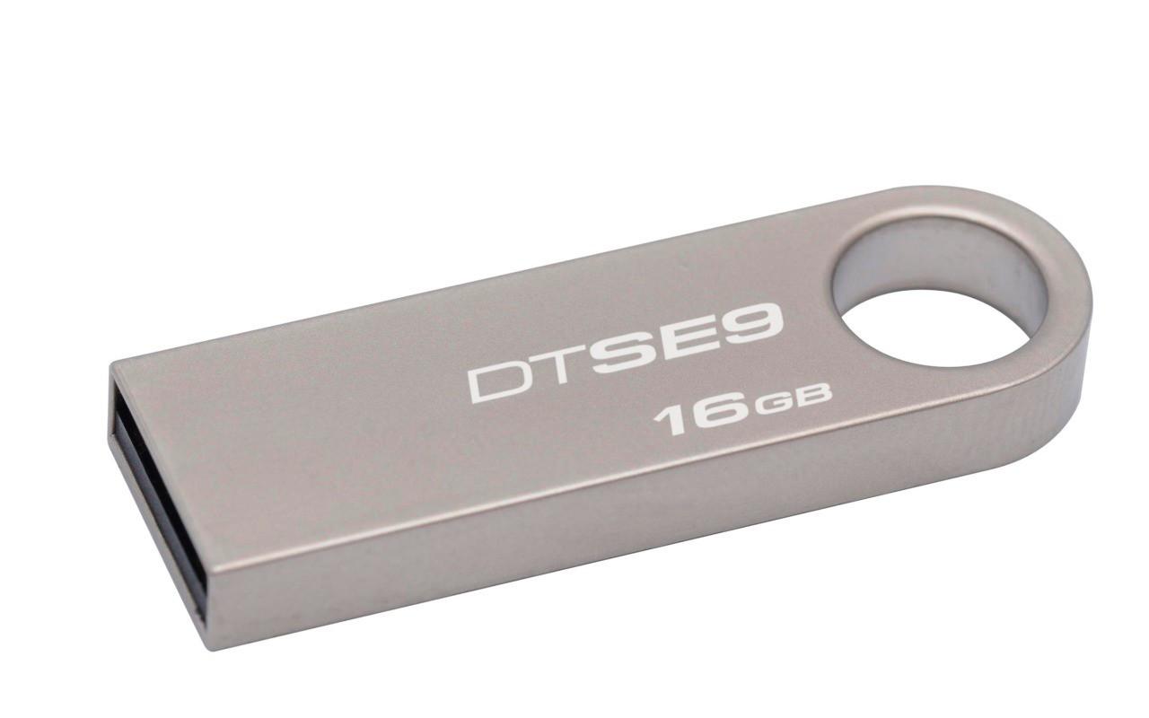 Pen Drive 16Gb Kingston Metal Casing  DTSE9H/16GB