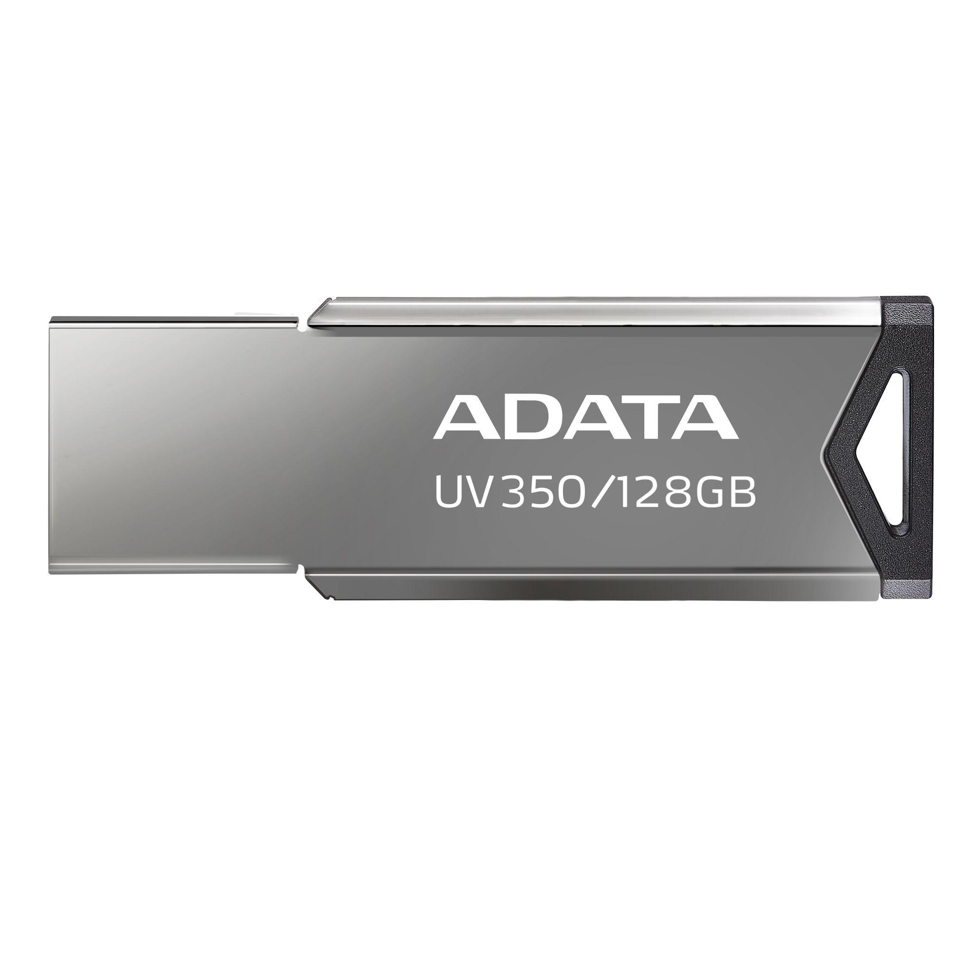 Pen Drive Adata, 128GB, USB 3.2, Metal - AUV350-128G-RBK