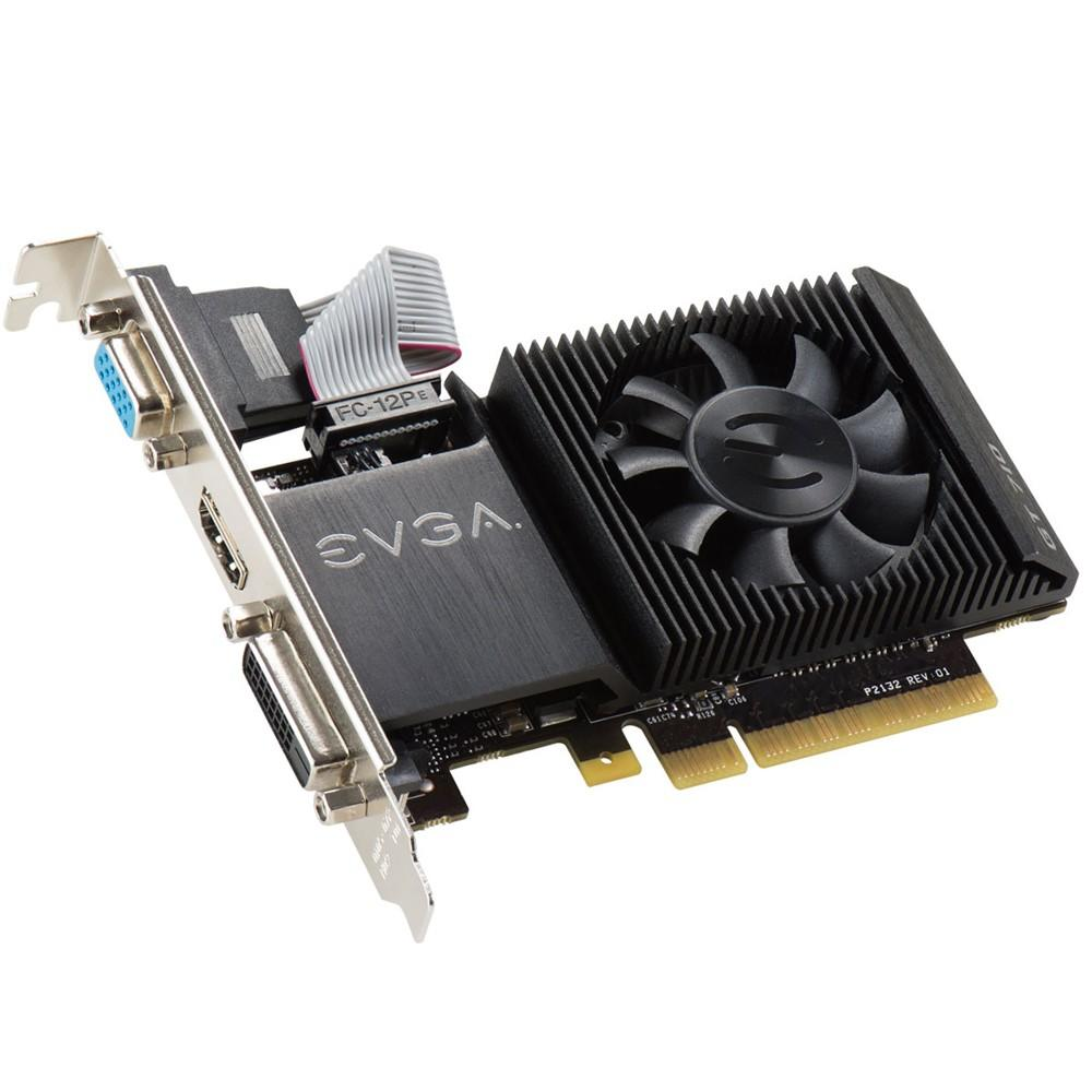 Placa de Vídeo EVGA Geforce GT710 2GB DDR3 64 Bits