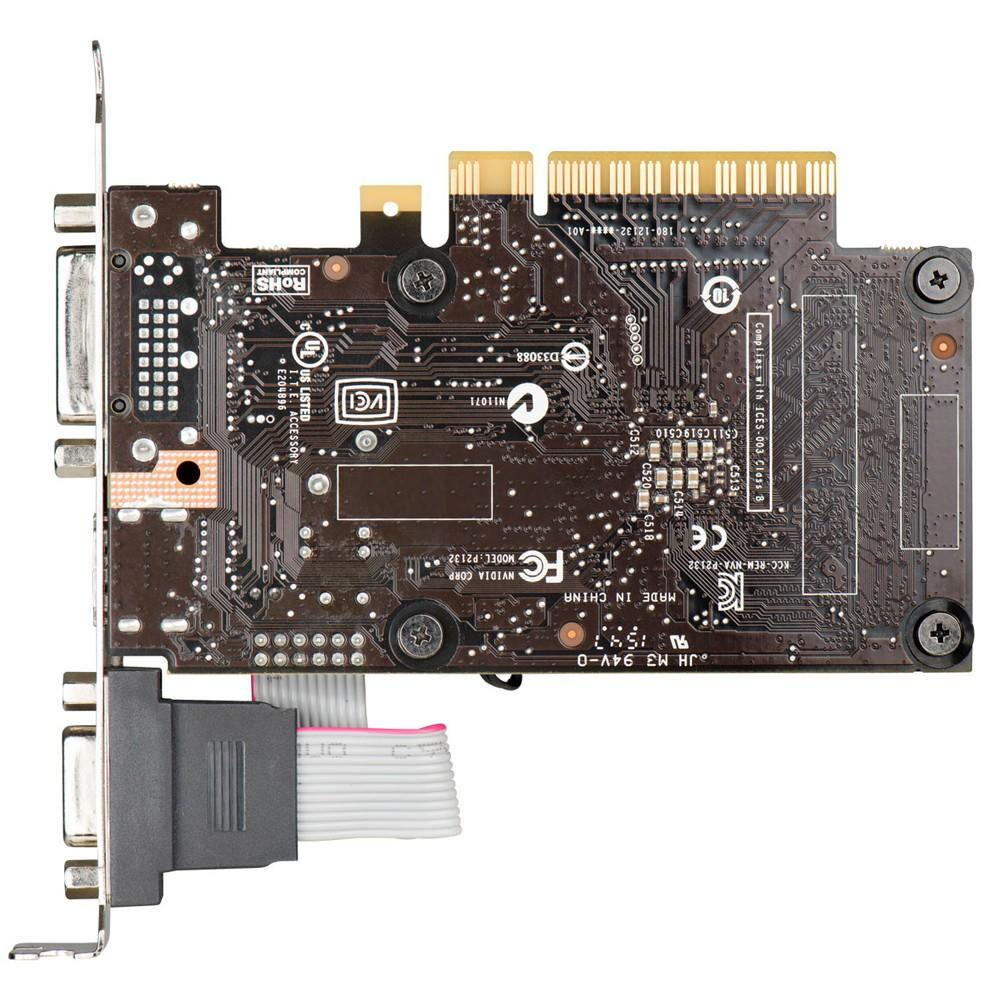Placa de Vídeo EVGA Geforce GT710 2GB DDR3 64 Bits