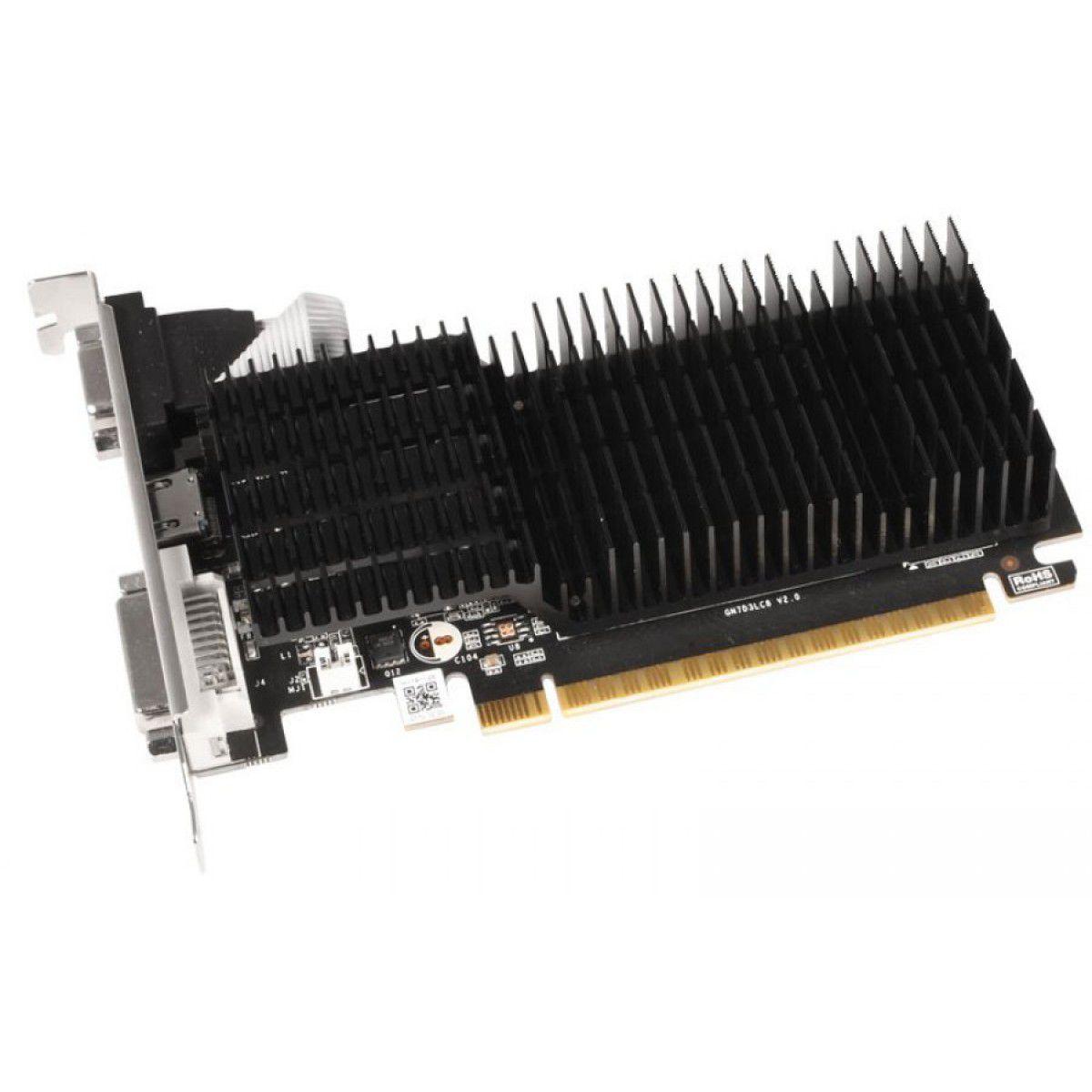 Placa de Vídeo Galax GeForce GT 710, 2GB DDR3, 64Bit, 71GPF4HI00GX