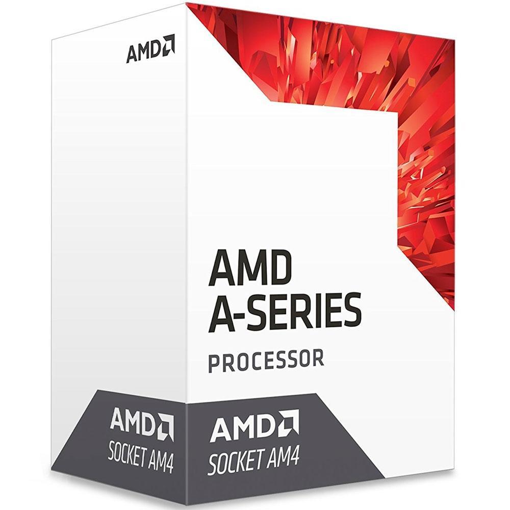 Processador AMD A10 9700 Bristol Ridge, Cache 2MB, 3.5GHz (3.8GHz Max Turbo), AM4 - AD9700AGABBOX