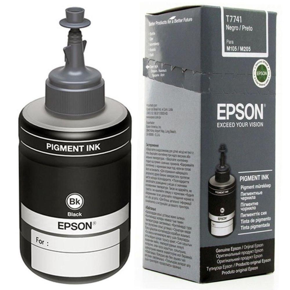 Refil Tinta Epson 774 Ref: T774120-Al Preto