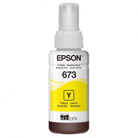 Refil Tinta Epson T673620 Amarelo
