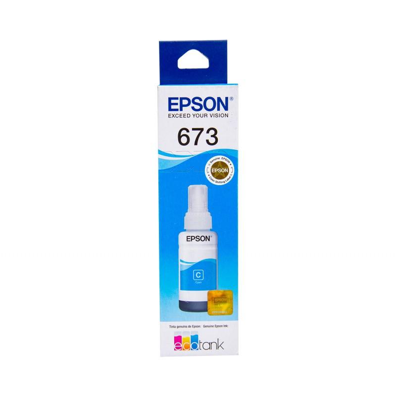 Refil Tinta Epson T673620 Ciano