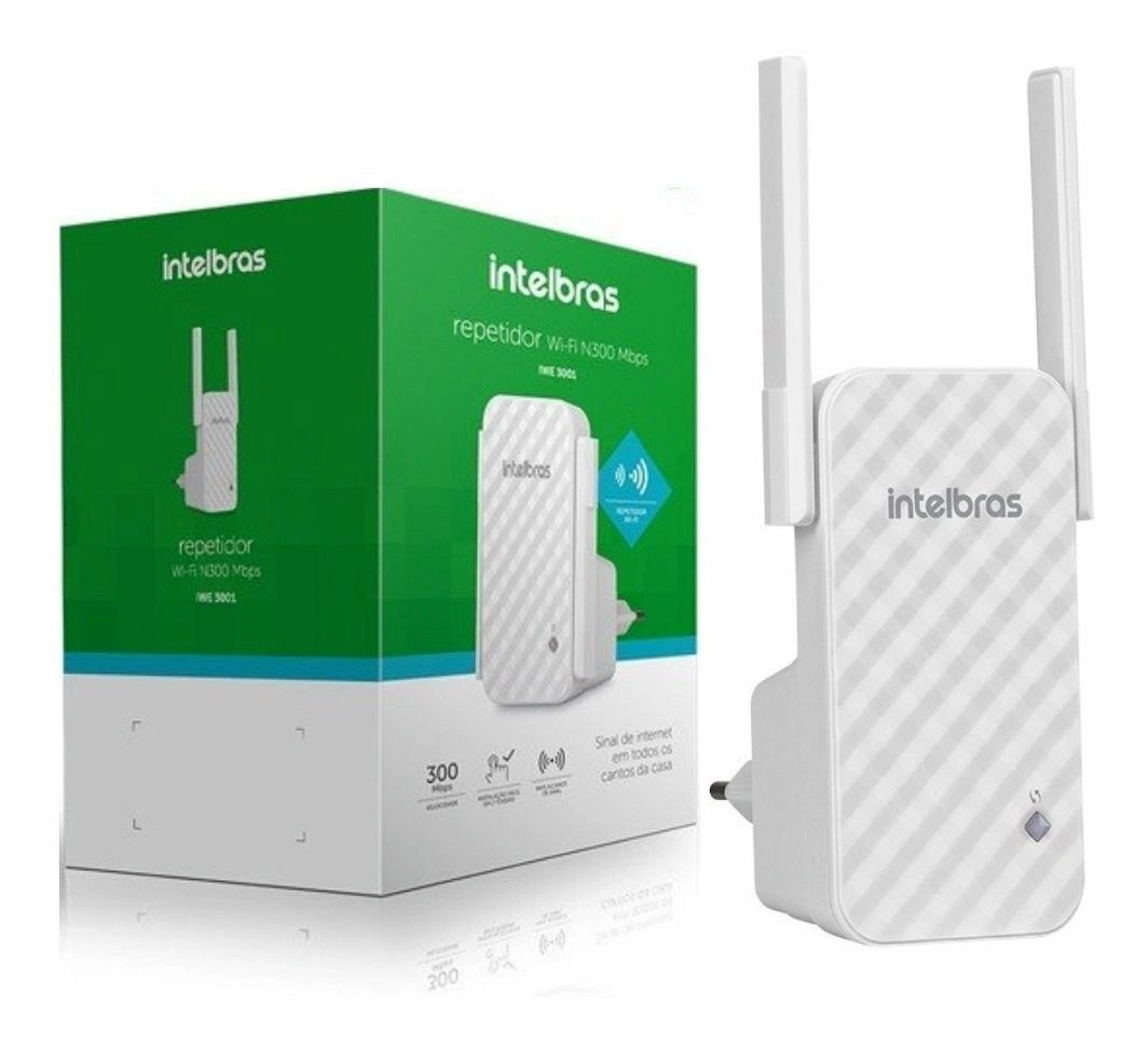 Repetidor Wireless 300mbps Intelbras Iwe3001