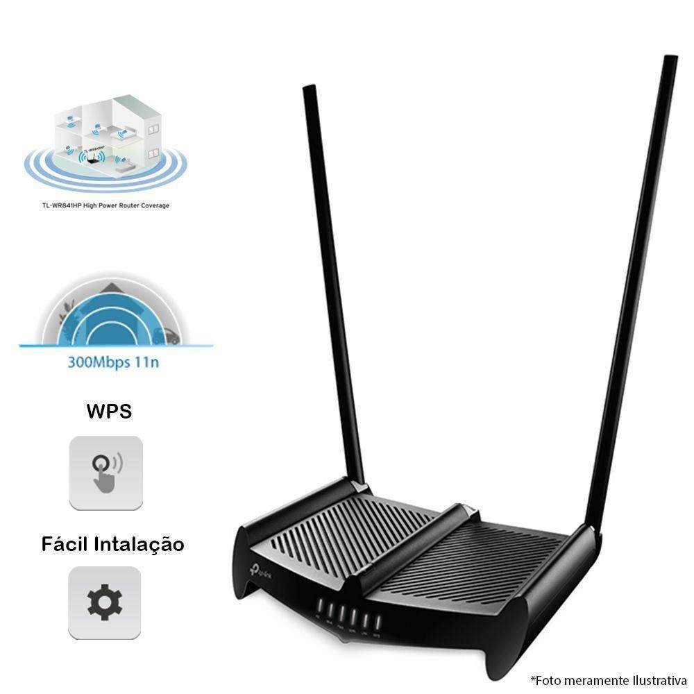 Roteador Tp-Link Wireless N 300 Mbps Tl-Wr841hp