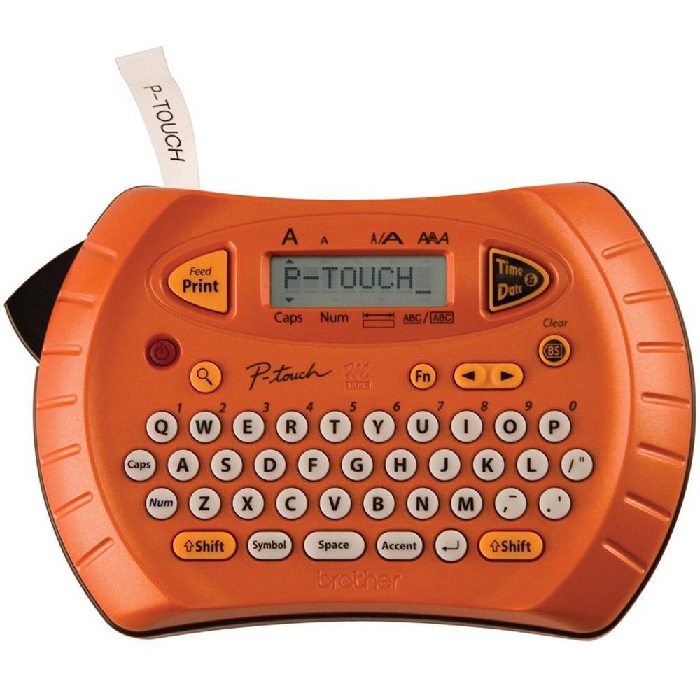 Rotulador Eletrônico Portátil Brother PT70 Laranja