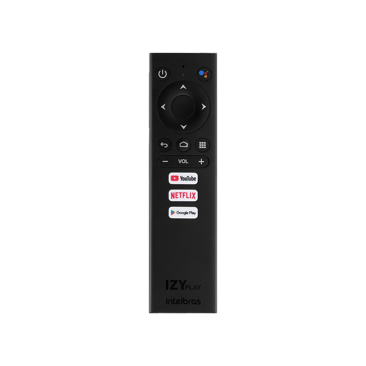 Smart Box Intelbras Android TV IZY Play