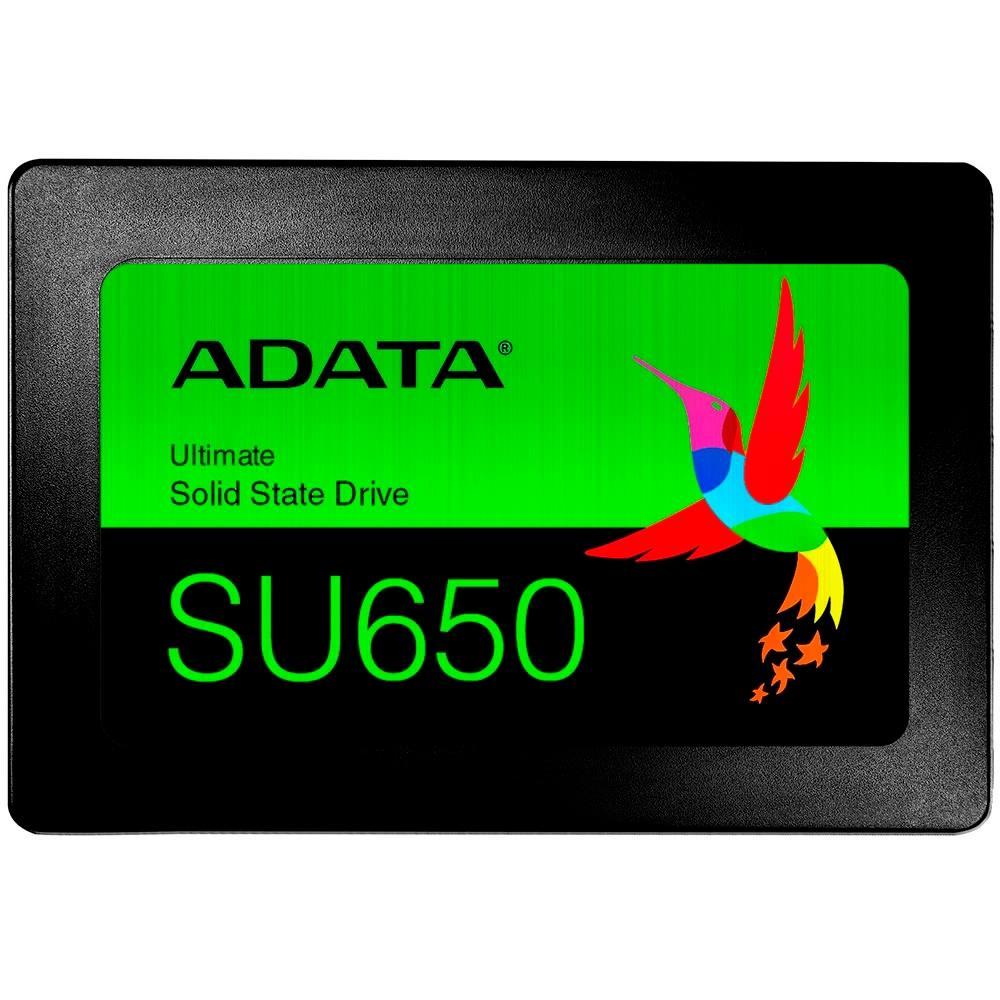 SSD Adata SU650, 120GB, SATA, Leitura 520MBs, Gravação 450MB/s - ASU650SS-120GT-R