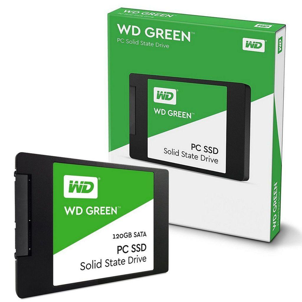 Ssd Wd Green 120gb 2,5 Sata - Wds120g1g0a