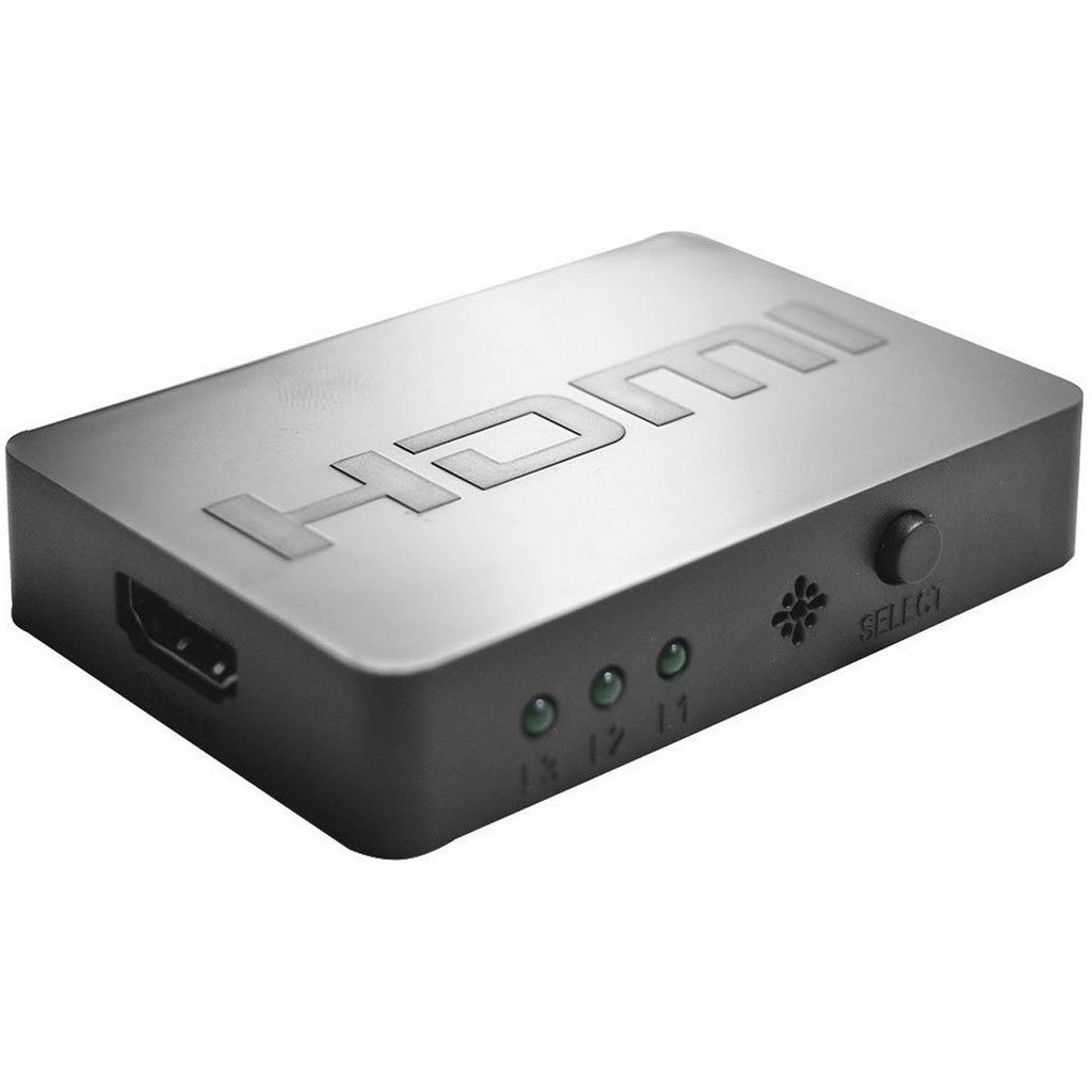 Switch Hdmi 3 Em 1 Multilaser - Wi290