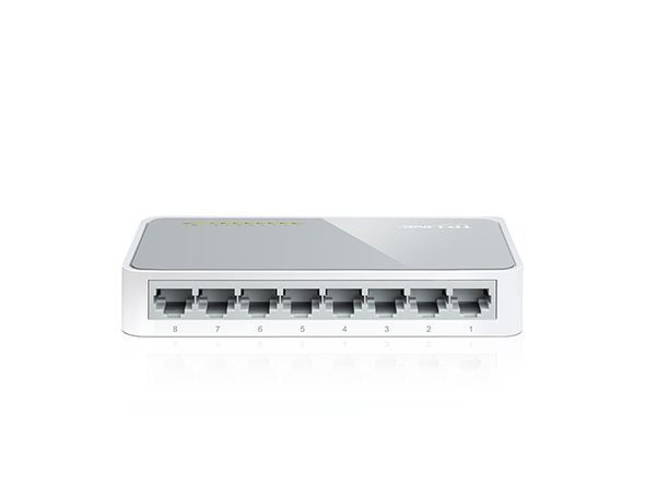 Switch Tp-Link 8-Port 10 100mbps Tl-Sf1008d T