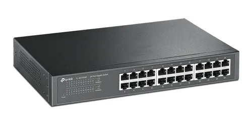 Switch Wired TP-Link Gigabit 24 Portas - TL-SG1024D