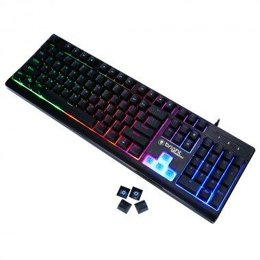 Teclado Gamer Bright 0541 Semi Mecânico
