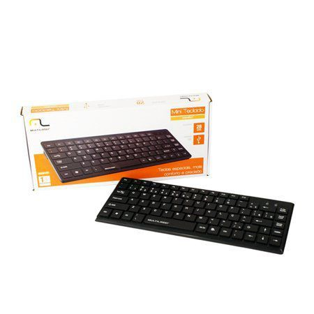 Teclado Mini Slim Usb Multilaser Tc154