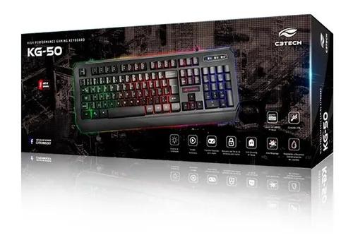 Teclado USB Gamer KG-50 C3Tech