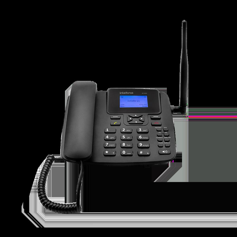 Telefone Celular Fixo GSM Intelbras Cf 4201