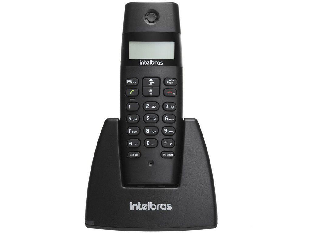 Telefone Sem Fio Intelbras Ts40id Preto