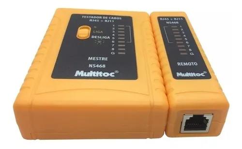 Testador de cabos NS486 e RJ45 MUTC0011