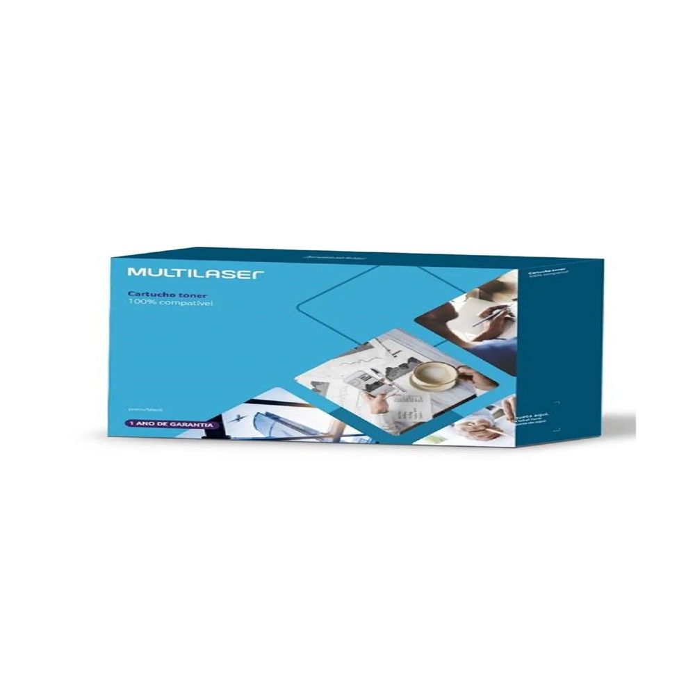 Toner Compatível Brother Tn1060 Preto Ct106 Multilaser