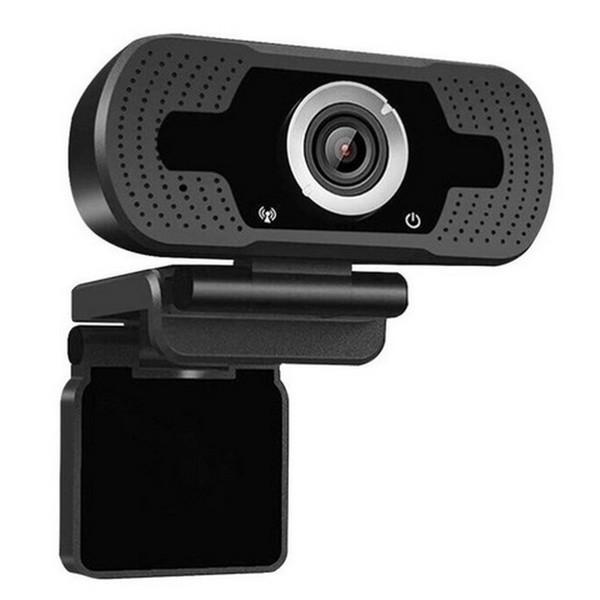 Web Cam Loosafe Full HD 1080p USB Preta com Tripe