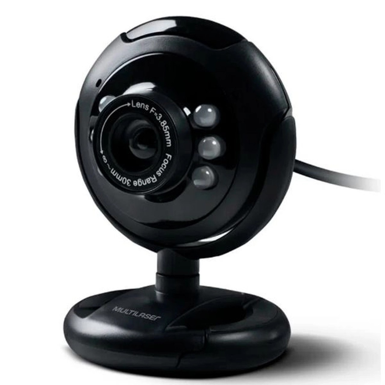 Webcam C/Microfone 16MP USB IF Multilaser WC045