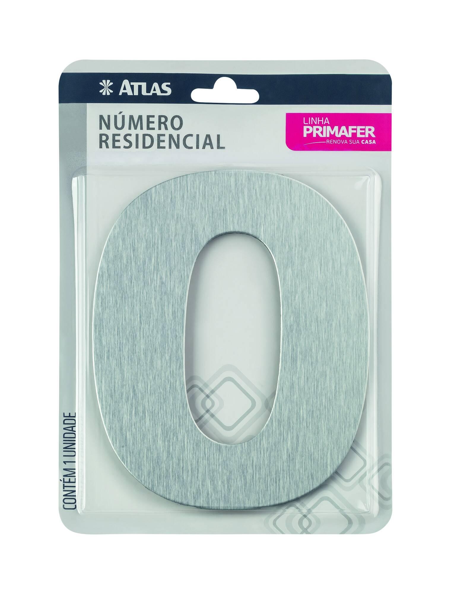 Adesivo Alumínio N° 0 Atlas PR3001/0.
