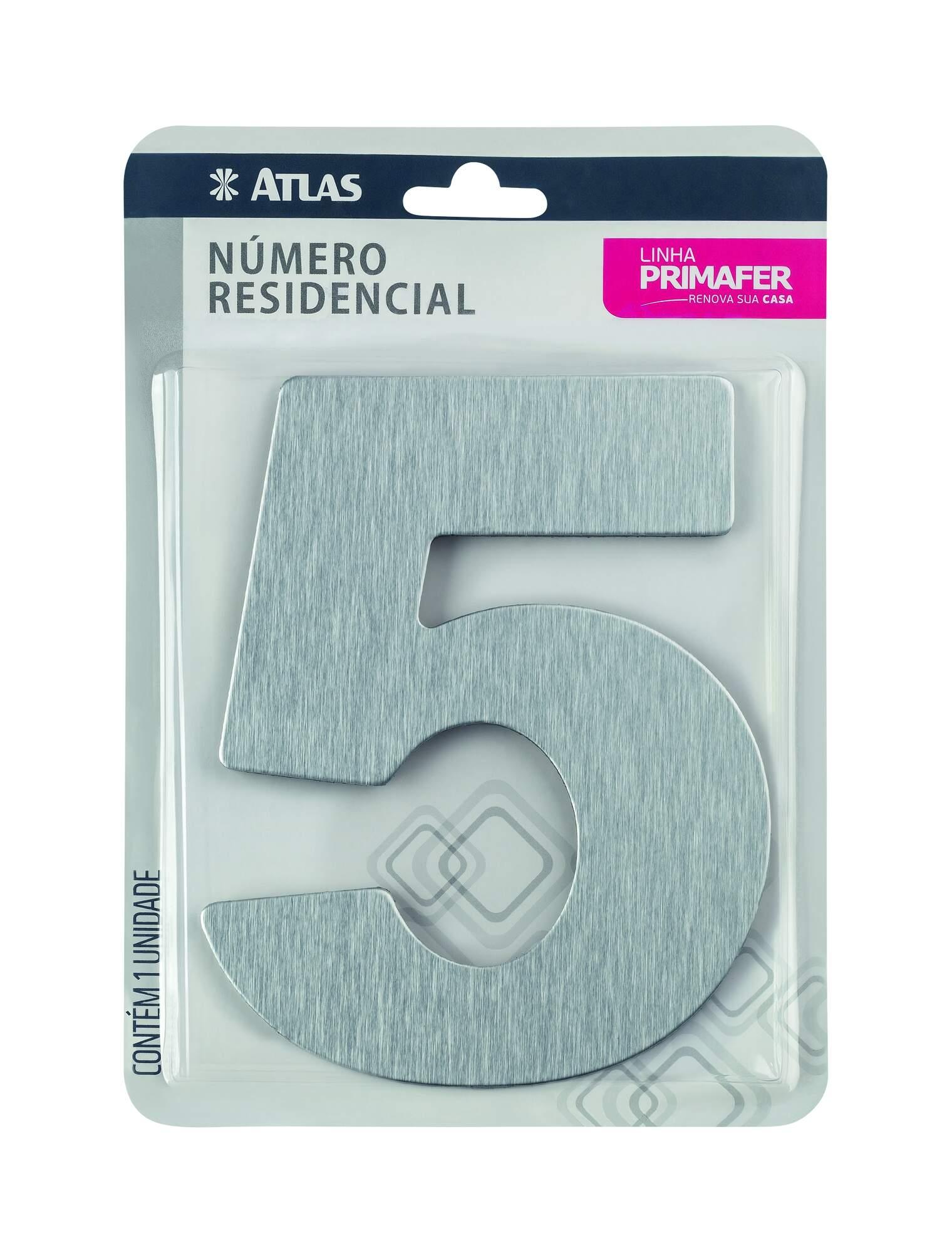 Adesivo Alumínio N° 5 Atlas PR3001/5.