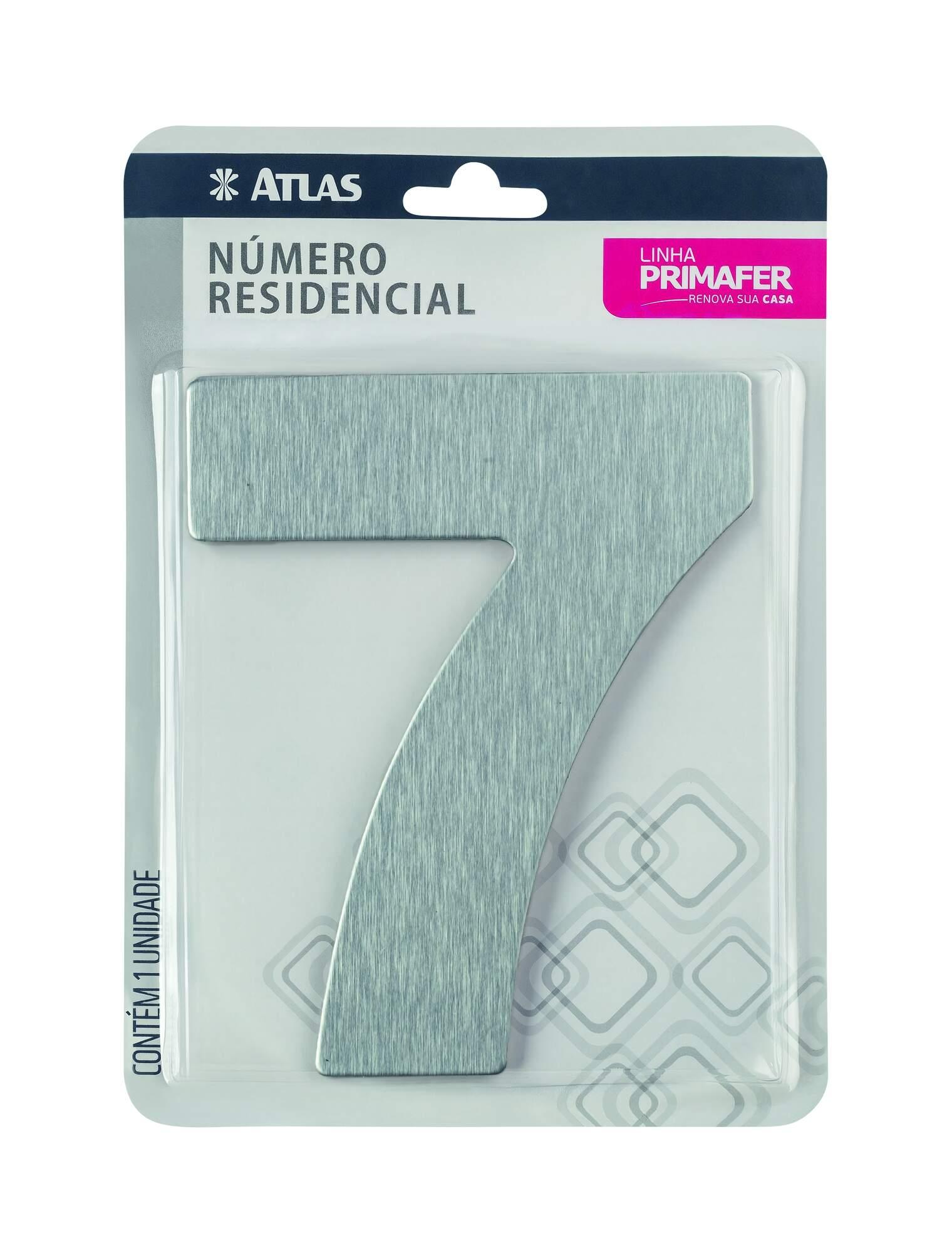 Adesivo Alumínio N° 7 Atlas PR3001/7.