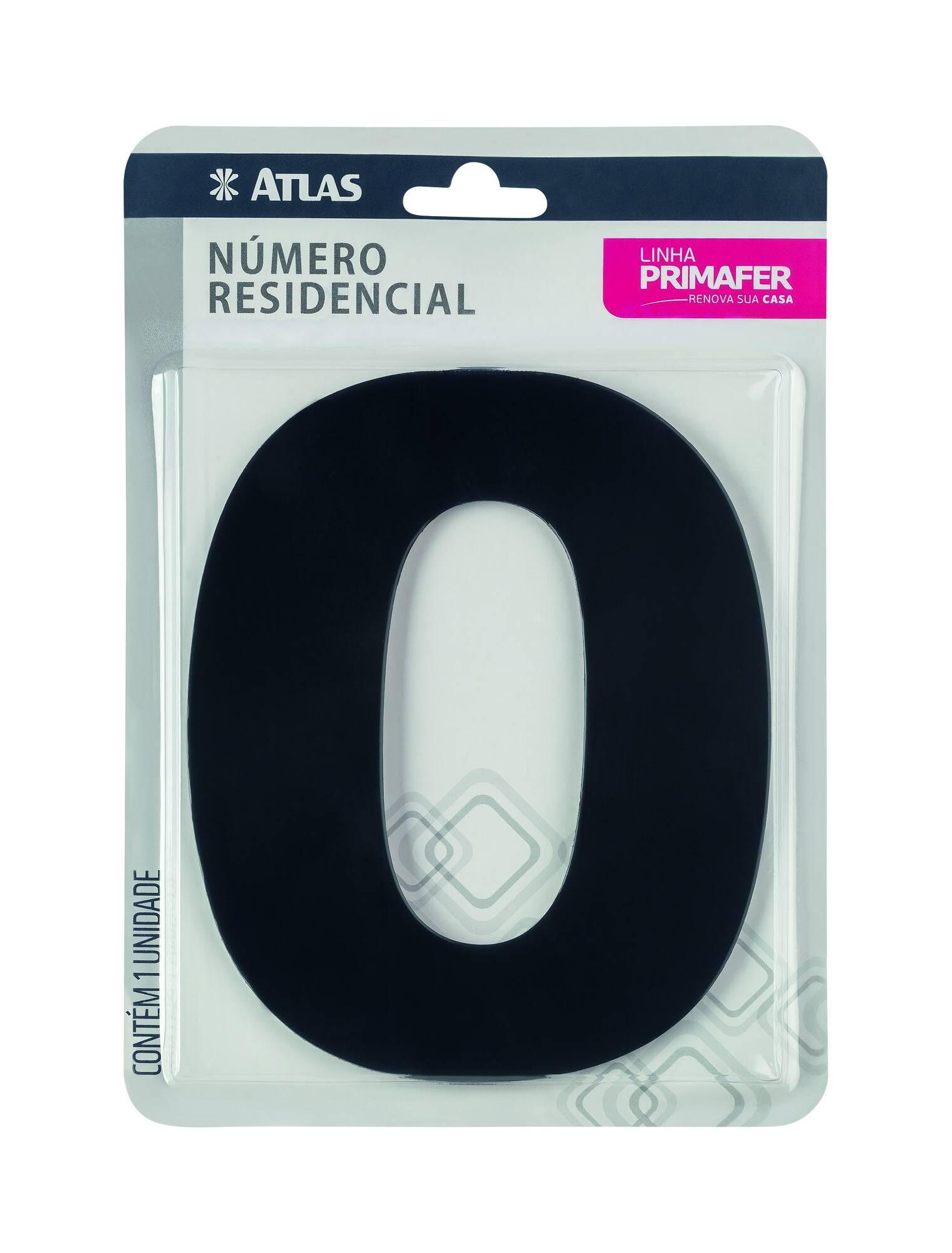 Adesivo Preto N° 0 Atlas PR3000/0.