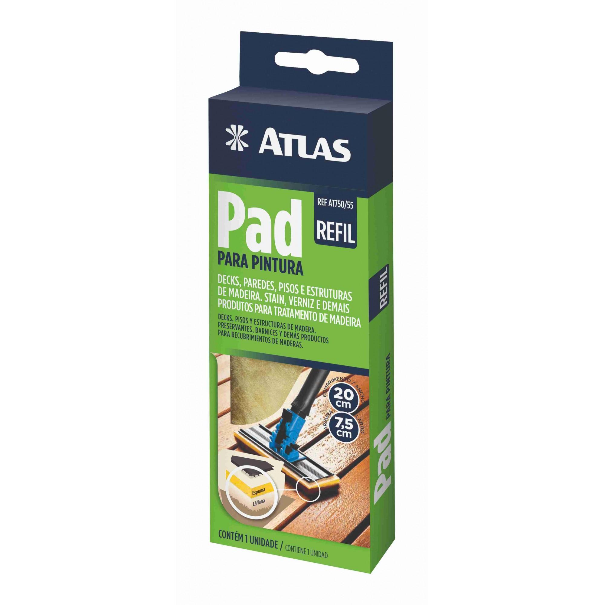 Refil Pad P/ Pintura de Verniz Atlas 750/55.