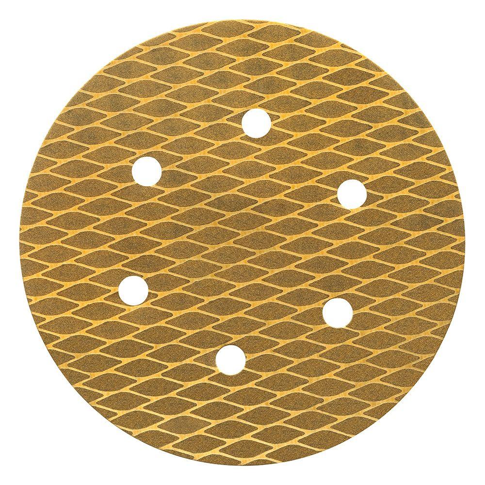 Disco Abrasivo de Papel 80 C/ 25 Unid 15 X 15 Cm Atlas AT15/80.