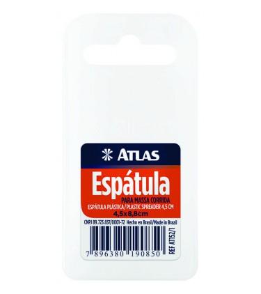 Espátula Plástica P/ Massa Corrida (Celulóide) 4,5 Cm Atlas AT152/1.