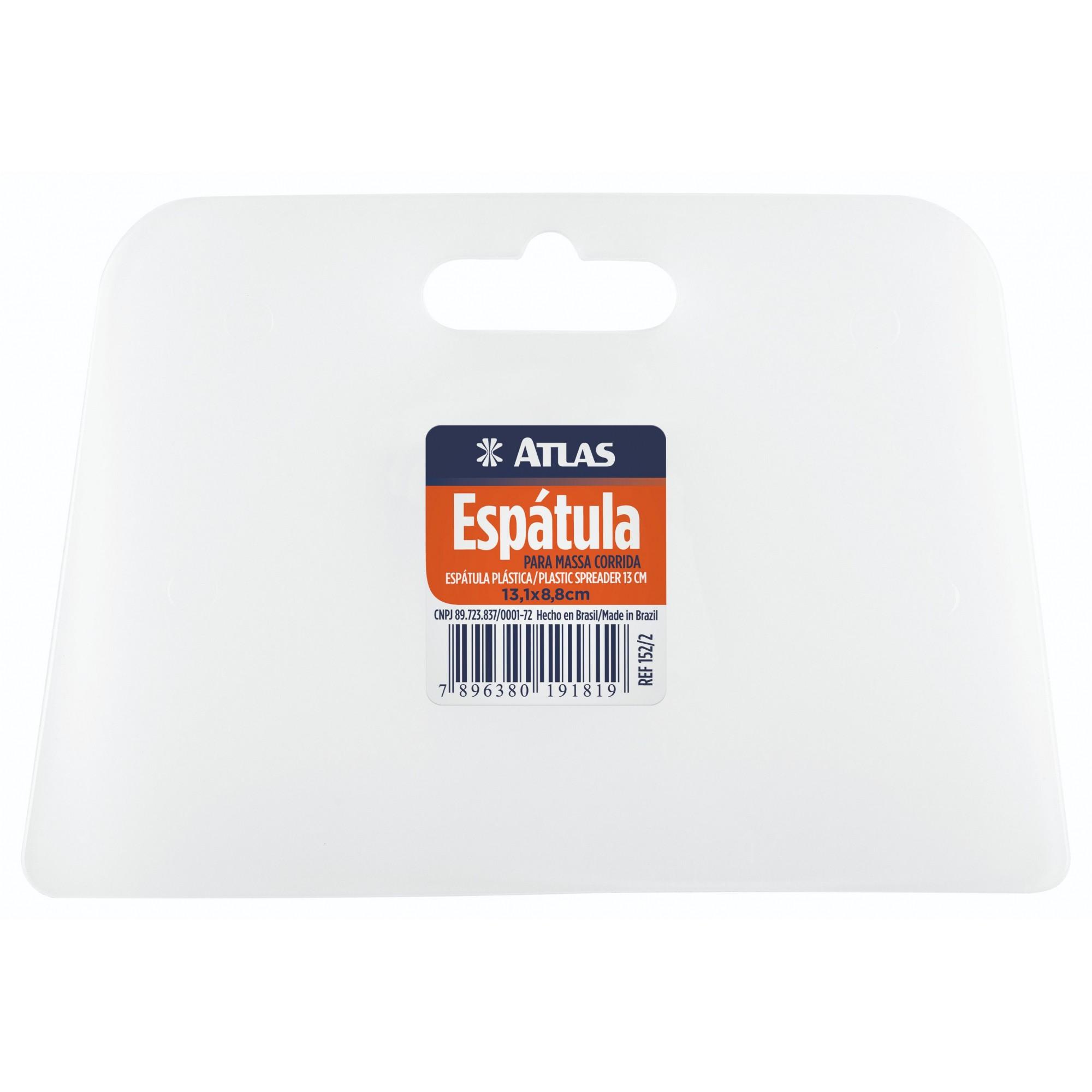 Espátula Plástica P/ Massa Corrida (Celulóide) 13,1 Cm Atlas 152/2.