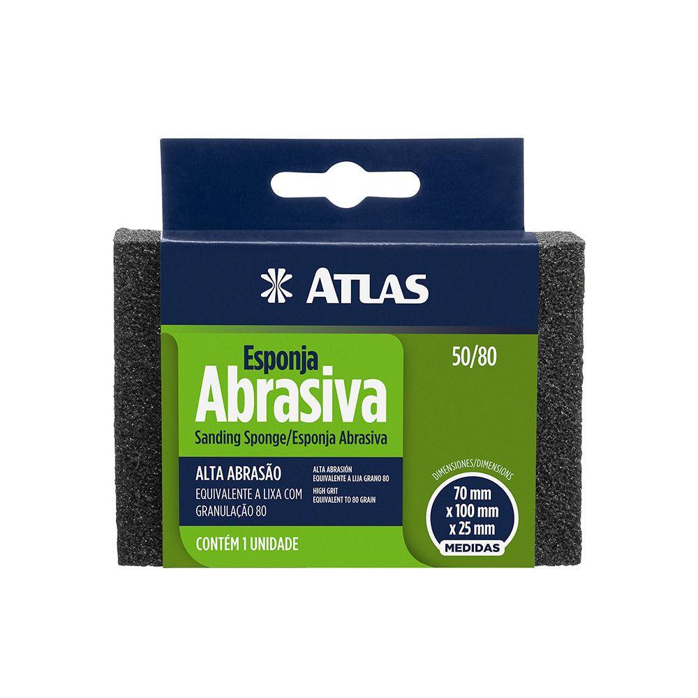 Esponja Abrasiva Rígida Alta Atlas 50/80.